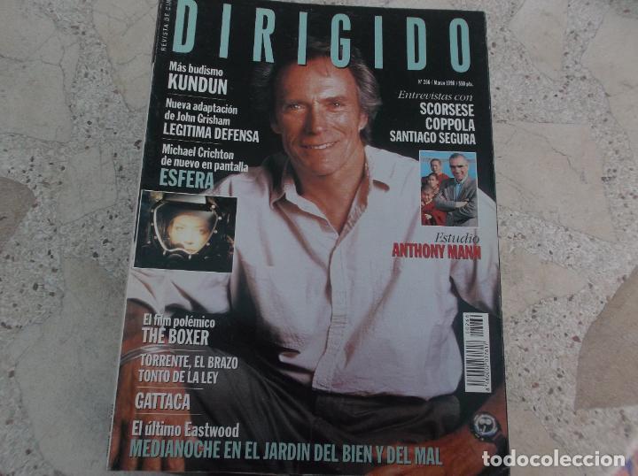 DIRIGIDO POR Nº 266, SCORSESE, COPPOLA, SANTIAGO SEGURA, ANTHONY MANN, KUNDUN, THE BOXER, GATTACA (Cine - Revistas - Dirigido por)