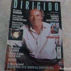 Cine: DIRIGIDO POR Nº 266, SCORSESE, COPPOLA, SANTIAGO SEGURA, ANTHONY MANN, KUNDUN, THE BOXER, GATTACA. Lote 267886034