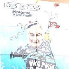 Cine: POSTER AFICHE CINE LE PETIT BAIGNEUR LOUIS DE FUNES. Lote 268079234