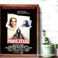 Cine: PARIS TEXAS POSTER EN CUADRO PARA COLGAR WIM WENDERS. Lote 268081094