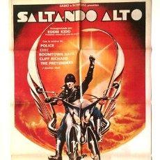Cine: AFICHE SALTANDO ALTO POSTER CINE. Lote 268081774