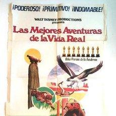 Cine: AFICHE LAS MEJORES AVENTURAS DE LA VIDA REAL POSTER CINE. Lote 268081944
