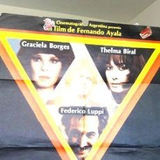 Cine: AFICHE POSTER CINE TRIANGULO DE 4 BORGES GRACIELA. Lote 268082549
