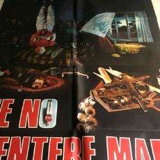 Cine: POSTER QUE NO SE ENTERE MAMA KIEFER SUTHERLAND 1987 ORIGINAL. Lote 268083974