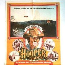 Cine: AFICHE HOOPER EL INCREIBLE POSTER CINE. Lote 268085029