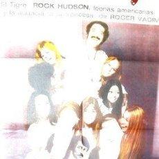 Cine: POSTER AFICHE CINE PRETTY MAIDS ALL IN A ROW ROCK HUDSON. Lote 268085549