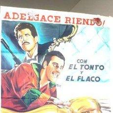 Cine: POSTER AFICHE CINE FRANCHI INGRASSIA EL FLACO Y EL TONTO. Lote 268086789