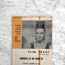 Cine: FILM IDEAL - Nº 76 - 1961 - ISABELLE COREY, NUEVO CINE AMERICANO, CINE ITALIANO, CINE ESPAÑOL. Lote 268089654