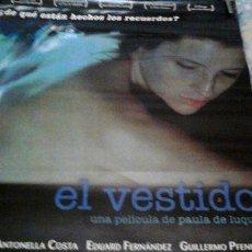 Cine: AFICHE EL VESTIDO. Lote 268097684