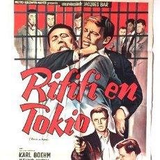 Cine: AFICHE RIFIFI EN TOKIO POSTER CINE. Lote 268098404