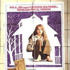 Cine: AFICHE LA NINA DEL CASERON SOLITARIO POSTER CINE. Lote 268100559