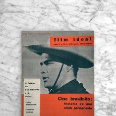 Cine: FILM IDEAL - Nº 77-78 - 1961 - MARLON BRANDO, SAN SEBASTIAN, CARLOS SAURA, CINE BRASILEÑO. ROSELLINI. Lote 268115154
