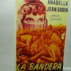 Cine: REPRODUCCION CARTEL CINE LA BANDERA-JEAN GABIN. Lote 268156349