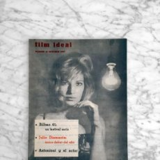 Cine: FILM IDEAL - Nº 82 - 1961 - MONICA VITTI, CINE ARGENTINO, BILBAO, JULIO DIAMANTE, ANTONIONI, TATI. Lote 268270099