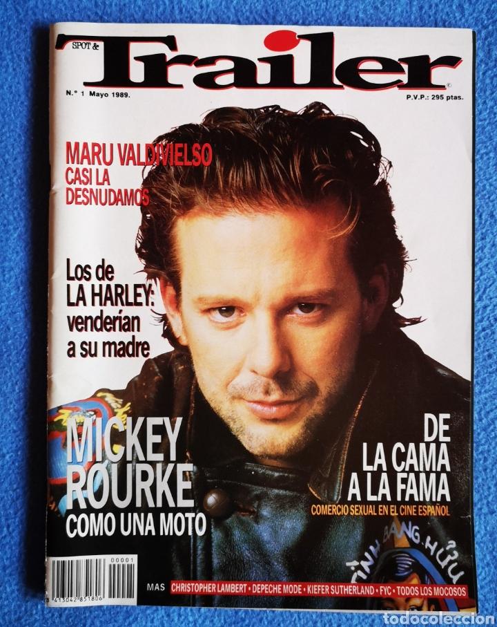 TRAILER - N° 1 - MAYO 1989 (Cine - Revistas - Otros)
