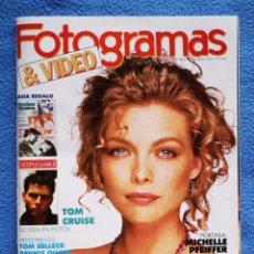 Cine: FOTOGRAMAS - N° 1752 - MAYO 1989. Lote 268619299