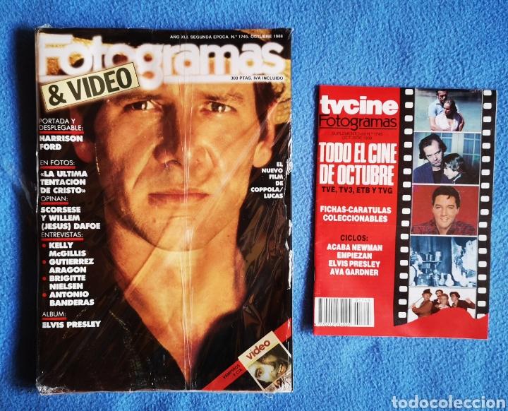 FOTOGRAMAS - N° 1745 - OCTUBRE 1988 (Cine - Revistas - Fotogramas)