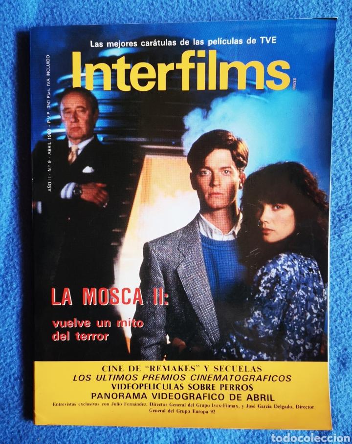 INTERFILMS - N° 9 - ABRIL - 1989 (Cine - Revistas - Interfilms)