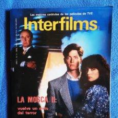 Cine: INTERFILMS - N° 9 - ABRIL - 1989. Lote 268619699