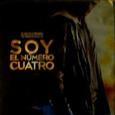 Cine: POSTER DE LA PELICULA SOY EL NUMERO CUATRO. Lote 268713904