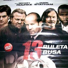 Cine: POSTER DE LA PELICULA RULETA RUSA. Lote 268713994