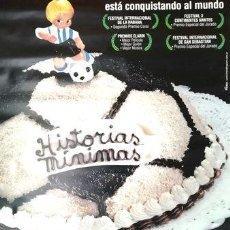 Cine: AFICHE ORIGINAL PELICULA HISTORIAS MINIMAS DE CARLOS SORIN. Lote 268715094