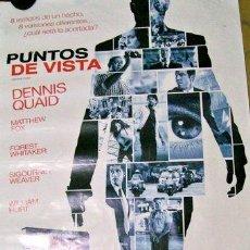 Cine: POSTER DE LA PELICULA PUNTOS DE VISTA. Lote 268711599