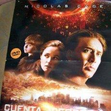 Cine: POSTER DE LA PELICULA CUENTA REGRESIVA. Lote 268712424