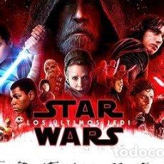Cine: POSTER ORIGINAL DE CINE STAR WARS LOS ULTIMOS JEDI. Lote 268714264