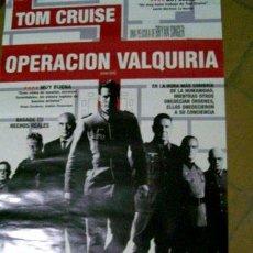 Cine: POSTER DE LA PELICULA OPERACION VALQUIRIA. Lote 268714924