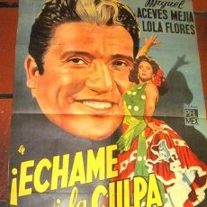 Cine: AFICHES DE CINE ANTIGUOS CON LOLA. Lote 268715554