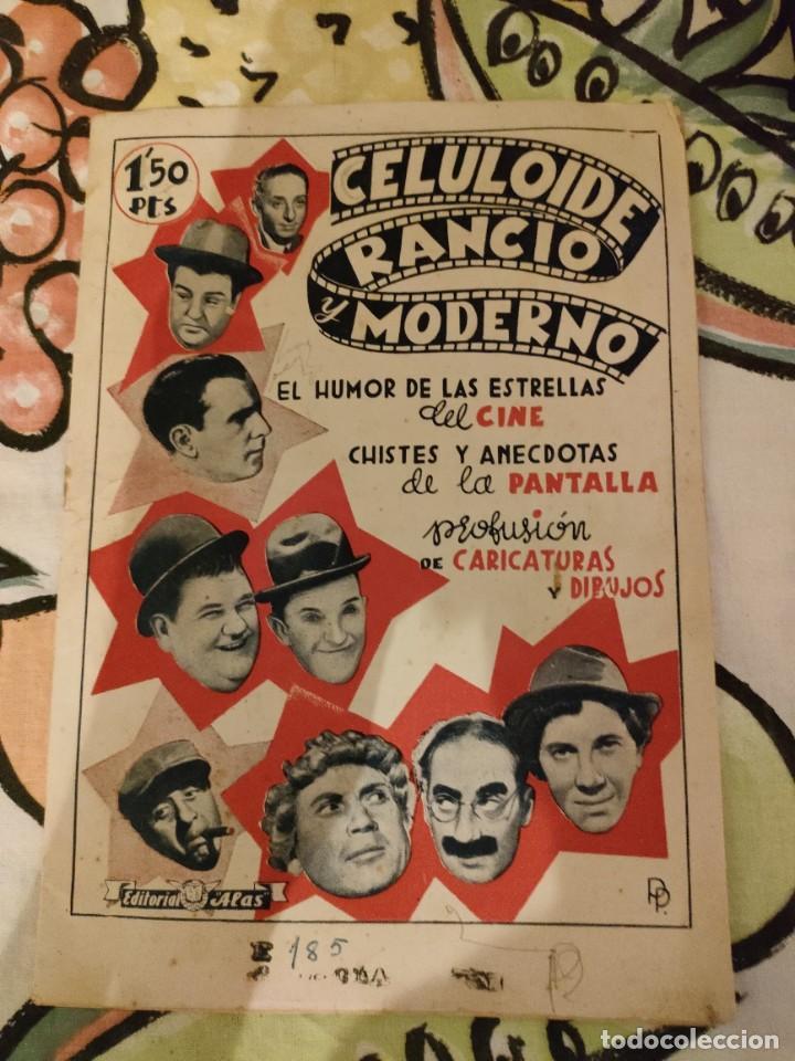 REVISTA COMICA - CELULOIDE RANCIO Y MODERNO - Nº 1 EDIT ALAS (Cine - Revistas - Otros)