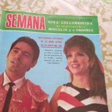 Cine: SEMANA 1968 GANA LOLLOBRIGIDA RAFAEL. Lote 269089438
