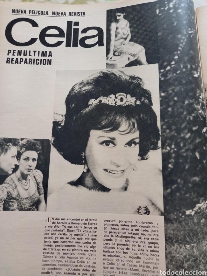 Cine: Gaceta 1973 ana magnani celia Gómez - Foto 2 - 269090473