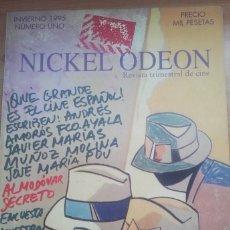 Cine: REVISTA NICKEL ODEON Nº 1. INVIERNO 1995. CINE ESPAÑOL. ALMODOVAR.PORTADA DE URCULO. Lote 269357483