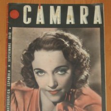 Cine: CAMARA #12 1942 JACQUELINE DELUBAC MARLENE DIETRICH GARY COOPER IMPERIO ARGENTINA MAGAZINE REVISTA. Lote 269450938