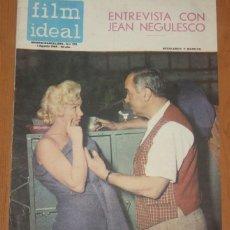 Cinema: FILM IDEAL #173 1965 MARILYN MONROE NEGULESCO ANNA KARINA GODARD CAROL LYNLEY. Lote 269455658