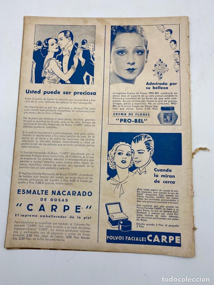 Cine: REVISTA CINEGRAMAS. AÑO II. Nº 61. NOVIEMBRE, 1935. PORTADA: HILDE HILDEBRAND - Foto 4 - 269601903