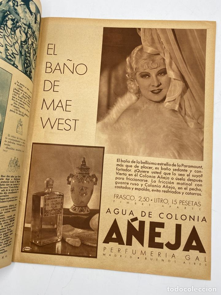Cine: REVISTA CINEGRAMAS. AÑO II. Nº 62. NOVIEMBRE, 1935. PORTADA: CONCHITA MONTENEGRO - Foto 3 - 269603013