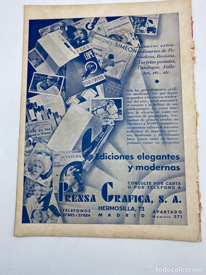 Cine: REVISTA CINEGRAMAS. AÑO II. Nº 62. NOVIEMBRE, 1935. PORTADA: CONCHITA MONTENEGRO - Foto 4 - 269603013