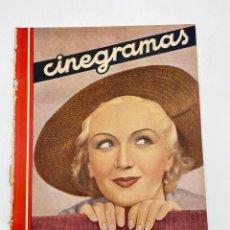 Cine: REVISTA CINEGRAMAS. AÑO II. Nº 64. NOVIEMBRE, 1935. PORTADA: MONA GOYA. Lote 269605703