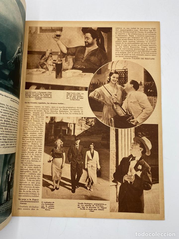 Cine: REVISTA CINEGRAMAS. AÑO II. Nº 64. NOVIEMBRE, 1935. PORTADA: MONA GOYA - Foto 3 - 269605703