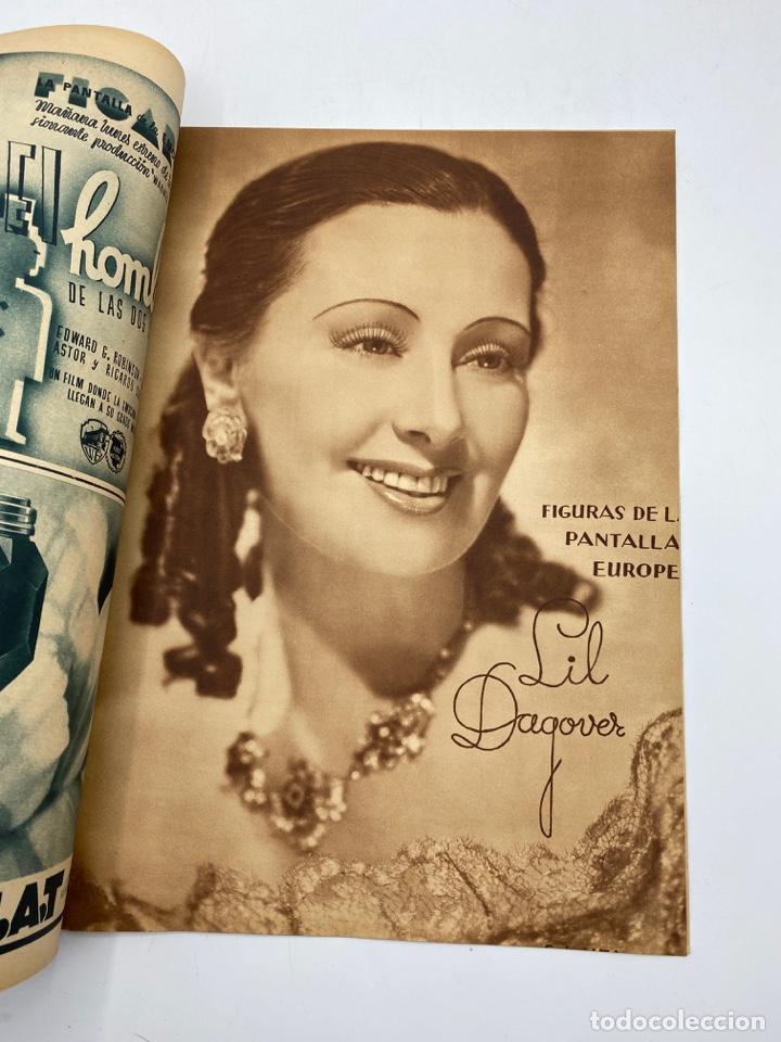 Cine: REVISTA CINEGRAMAS. AÑO II. Nº 65. DICIEMBRE, 1935. PORTADA: GETRUDE MICHAEL - Foto 3 - 269606888