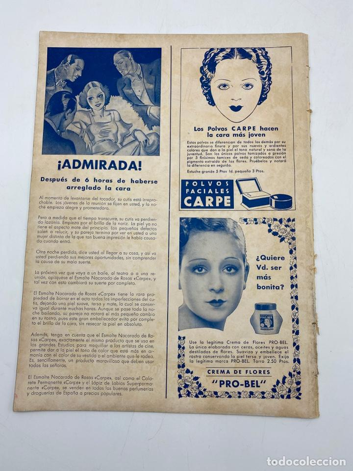 Cine: REVISTA CINEGRAMAS. AÑO II. Nº 65. DICIEMBRE, 1935. PORTADA: GETRUDE MICHAEL - Foto 4 - 269606888