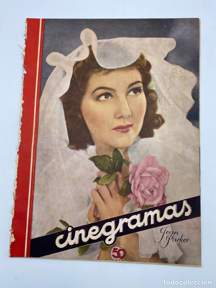 REVISTA CINEGRAMAS. AÑO II. Nº 66. DICIEMBRE, 1935. PORTADA: JEAN PARKER (Cine - Revistas - Cinegramas)