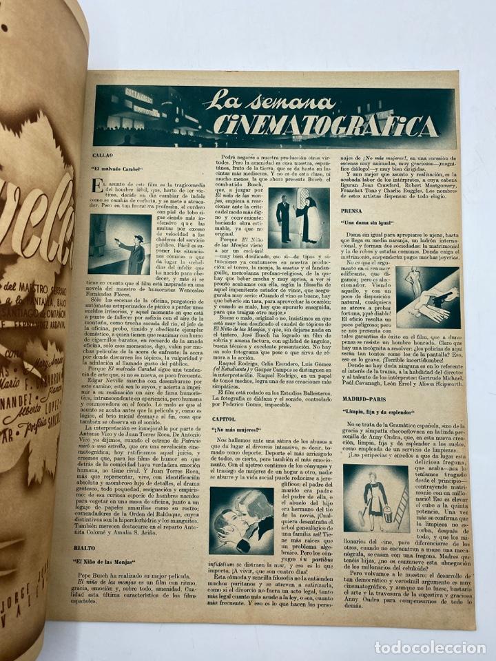 Cine: REVISTA CINEGRAMAS. AÑO II. Nº 66. DICIEMBRE, 1935. PORTADA: JEAN PARKER - Foto 3 - 269607528