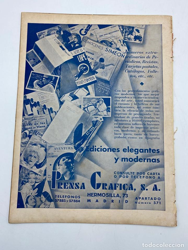 Cine: REVISTA CINEGRAMAS. AÑO II. Nº 66. DICIEMBRE, 1935. PORTADA: JEAN PARKER - Foto 4 - 269607528