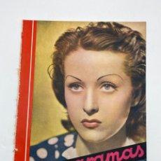 Cine: REVISTA CINEGRAMAS. AÑO III. Nº 69. ENERO, 1936. PORTADA: DANIELLE DARRIEUX. Lote 269609193