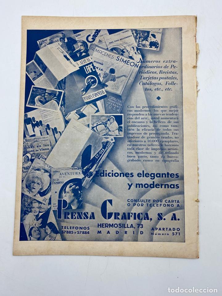 Cine: REVISTA CINEGRAMAS. AÑO II. Nº 68. DICIEMBRE, 1935. PORTADA: MYRNA LOY Y WILLIAM POWELL - Foto 4 - 269612148