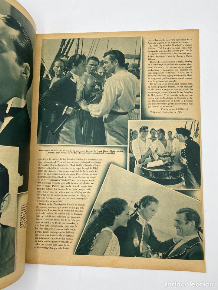 Cine: REVISTA CINEGRAMAS. AÑO III. Nº 70. ENERO, 1936. PORTADA: GAIL PATRICK - Foto 3 - 269614458